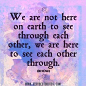 we-are-not-here-on-earth-to-see-through-each-other-we-are-here-to-see-each-other-through-positive-quotes